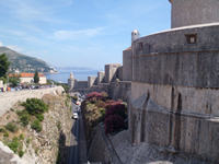 Land side Dubrovnik City wall