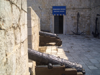 Entrance to  Dubrovnik Maritime Museum