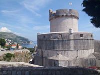 Minceta Tower in Dubrovnik