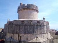 Minceta fortress - Large fort in Dubrovnik City walls