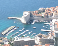 Old Port Dubrovnik - Panorama