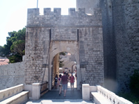 Outer Ploce Gate Dubrovnik