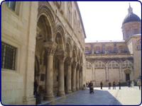 Rector's Palace porch