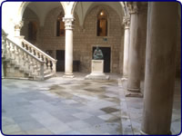 Atrium of the Rector's Palace - Dubrovnik