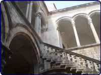 Staircase to the 2nd floor - Rector's Palace