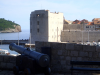 St John Fortress - View from Revelin